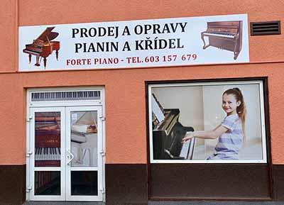 Forte piano prodejna Karlovy vary