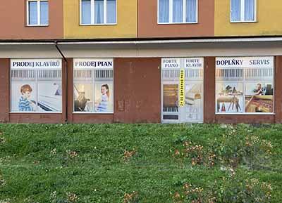 Forte piano prodejna Plzeň