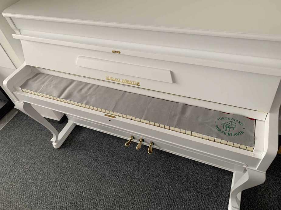 Šerpa na ochranu kláves šedá
